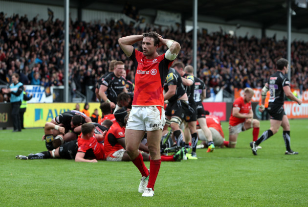 Exeter Chiefs v Saracens - Aviva Premiership - Semi Final - Sandy Park