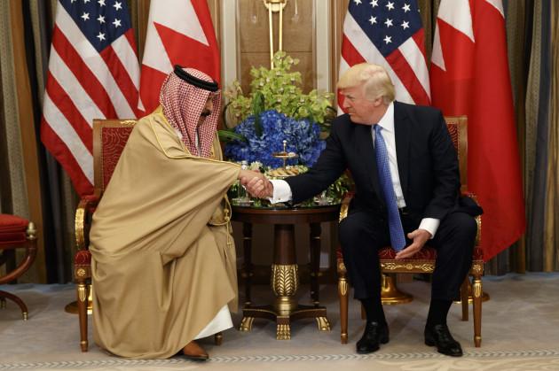 Trump US Saudi Arabia