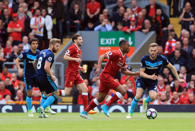 Liverpool v Middlesbrough - Premier League - Anfield
