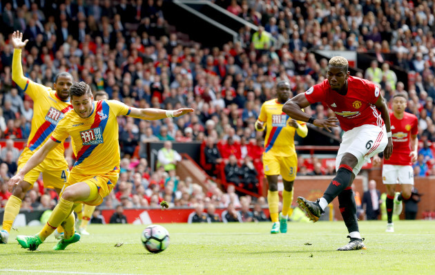 Manchester United v Crystal Palace - Premier League - Old Trafford