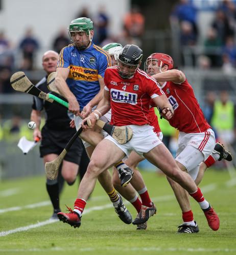Noel McGrath under pressure