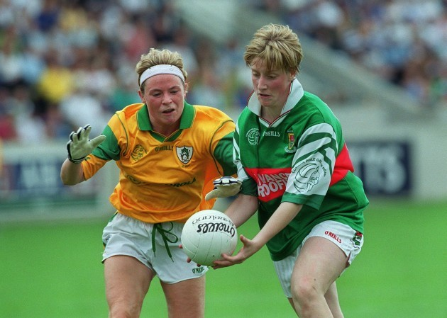 Cora Staunton and Patricia McNelis 4/9/1999