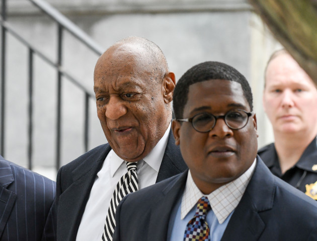 Bill Cosby Leaving Court After Spanish Fly Hearing
