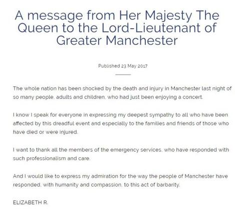 queen message