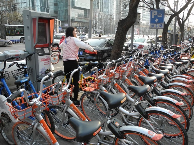 Rental bike hype in China