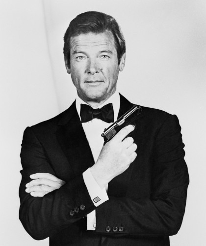 Roger Moore 1927-2017 James Bond Actor
