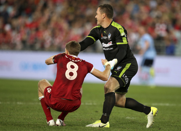 Australia Sydney Liverpool Soccer