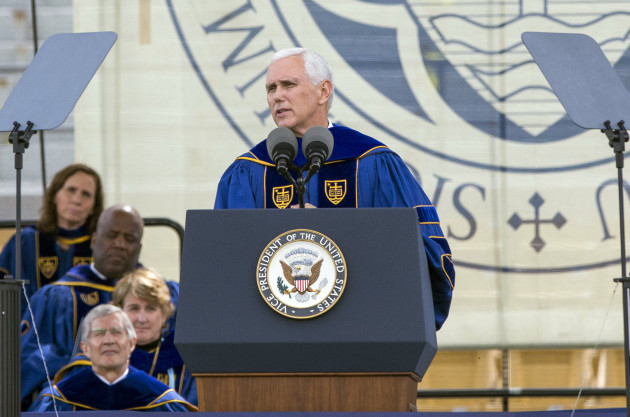 Pence-Notre Dame