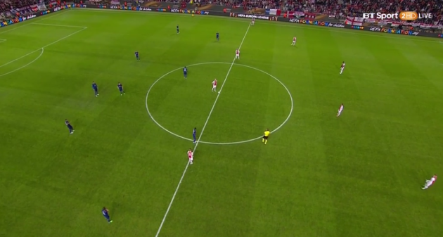Half time Europa League