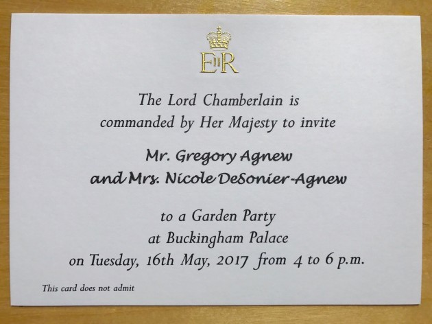 Man uses 'strange' loophole to get invite to Buckingham Palace