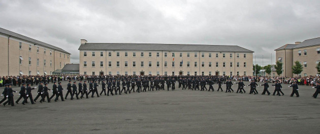 Garda graduation ceremony