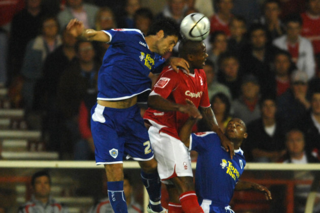 Soccer - Carling Cup - Second Round - Nottingham Forest v Leicester City - City Ground