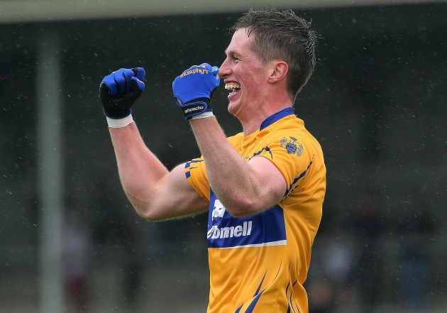 Eoin Cleary celebrates at the final whistle