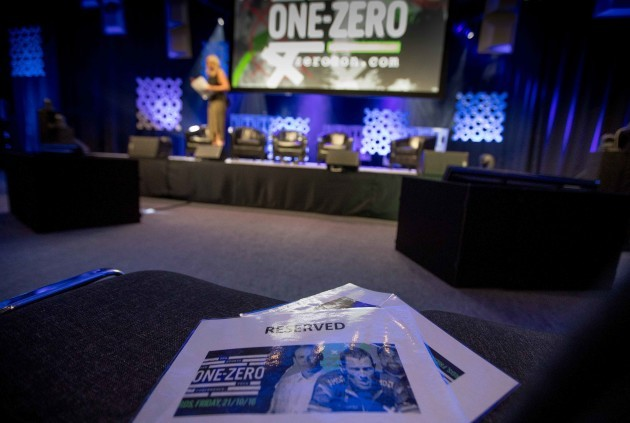 A view of the One Zero - The Sports and Tech. Conference