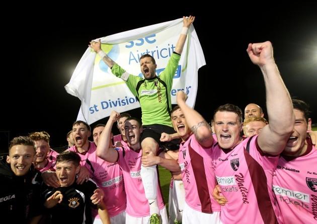 Graham Doyle celebrates