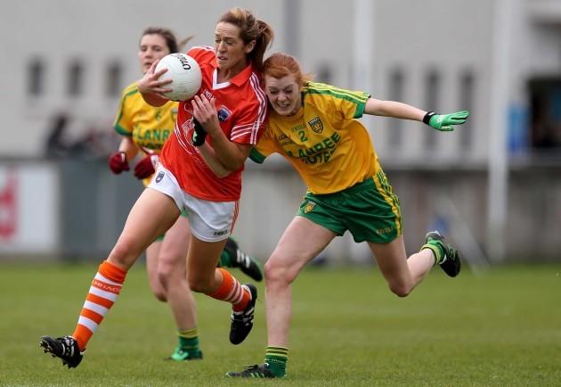 Caroline O'Hanlon and Deirdre Foley