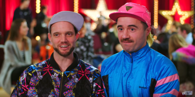 A unique comedy duo from Cork completely wowed the audience