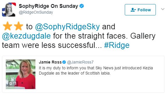 sophy ridge