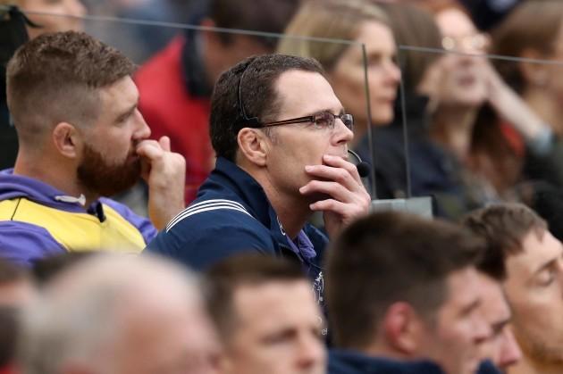 Munster's head coach Rassie Erasmus