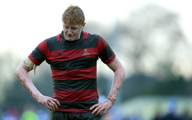 Sam Pim dejected after the game