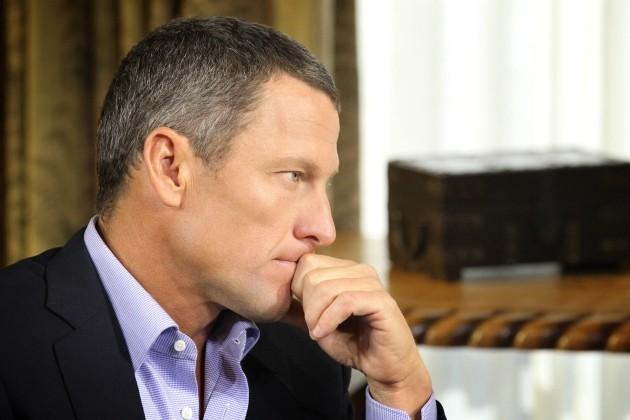 Armstrong interviewed by Oprah Winfrey