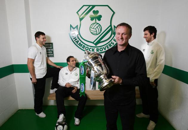 James Chambers, Stephen Rice, Michael O'Neill and Craig Sives