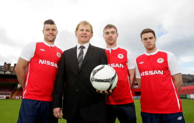 James Chambers, Liam Buckley, Vinny Flaherty and John Russell