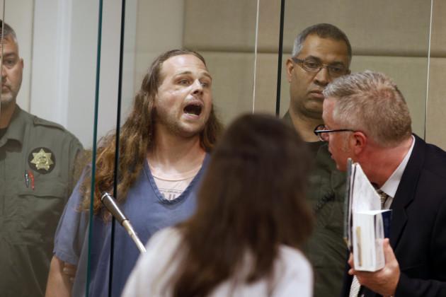APTOPIX Portland Fatal Stabbing