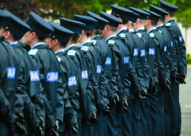 8/6/2016. Templemore Passing Out Parades