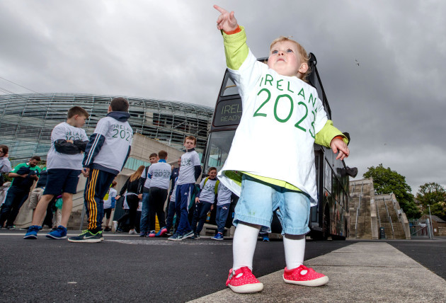 Clodagh O Connor during the parade