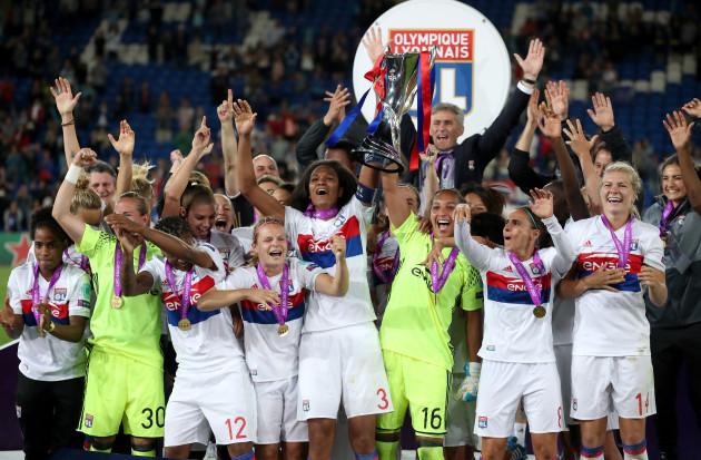 Lyon v Paris Saint Germain - UEFA Women's Champions League - Final - Cardiff City Stadium