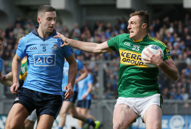 James McCarthy and Brendan O'Sullivan