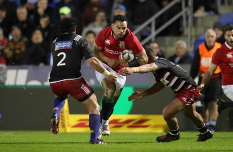 Ben Te'o on the attack