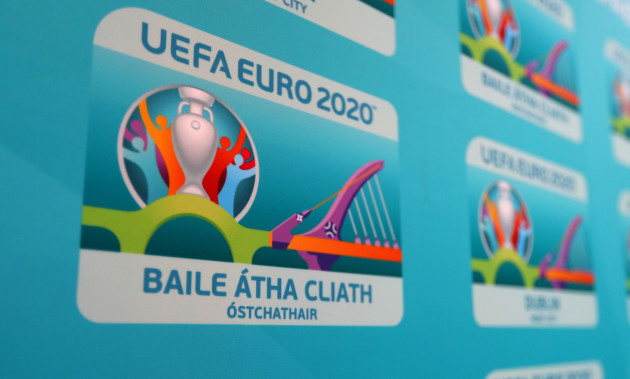 The UEFA EURO 2020 Dublin logo