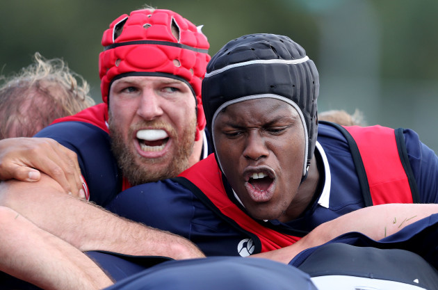 James Haskell and Maro Itoje