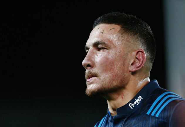 Sonny Bill Williams is seen wearing the unique jersey with the Plunket logo on the collar