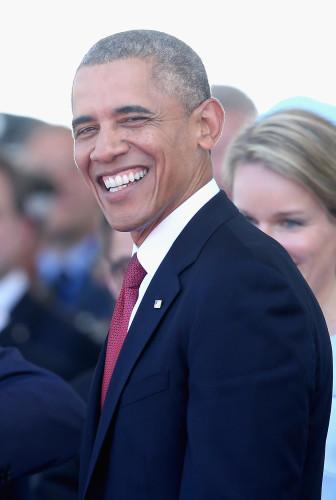 Barack Obama visit to Scotland