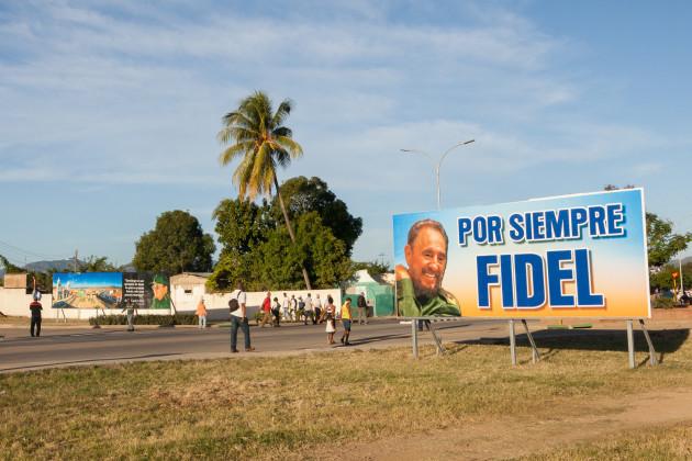 Farewell of Fidel Castro