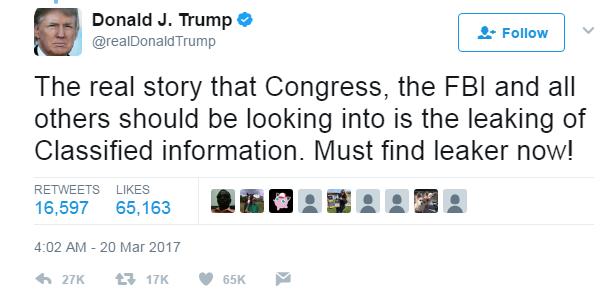 trump leak