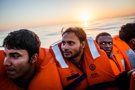 Italy: Humanitarian Crisis in Africa, Middle East and Asia