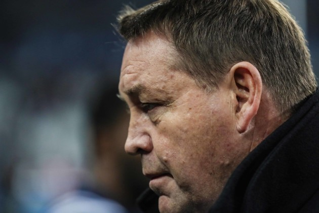 New Zealand All Blacks  head coach Steve Hansen