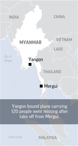 MYANMAR MISSING PLANE
