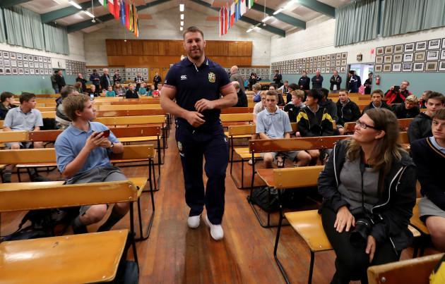 Sean O'Brien at Whangarei Boys High School