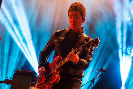 Noel Gallagher's High Flying Birds perform at YNOT Festival, 2016