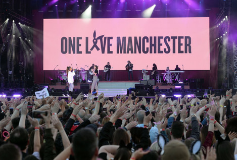 Manchester attack benefit concert