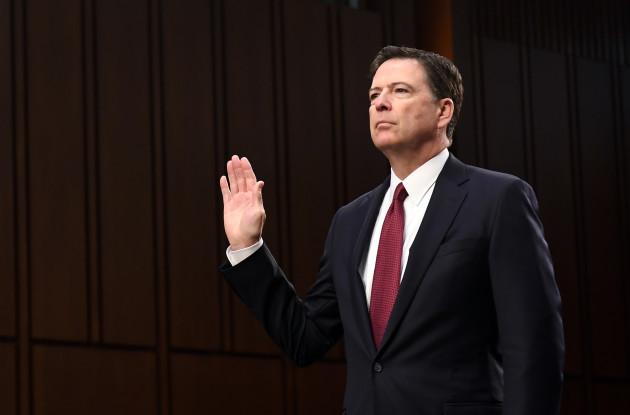 U.S.-WASHINGTON D.C.-FBI-FORMER DIRECTOR-JAMES COMEY-HEARING