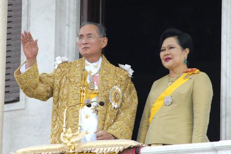 60th anniversary of King Bhumibol Adulyadej of Thailand - Bangkok