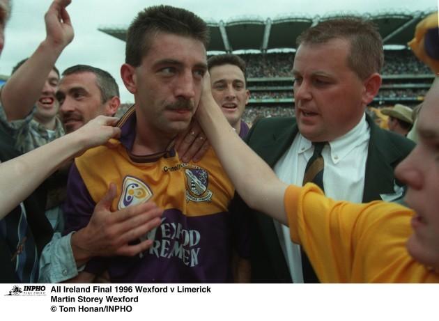 Martin Storey All Ireland Final 1996 Wexford v Limerick