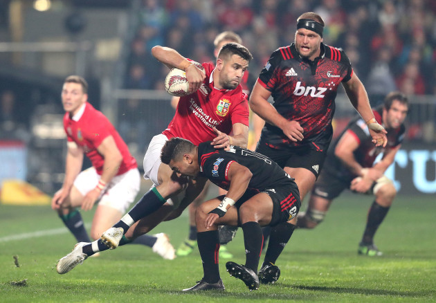 Conor Murray with Richie Mo'unga