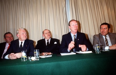 Appointment of Jack Charlton as manager